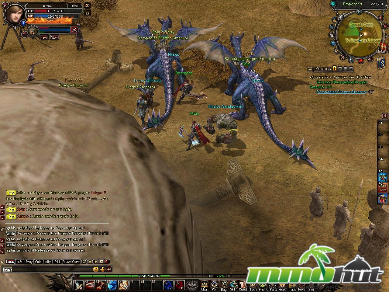 Top 10 Best 3D MMORPGs / MMOs Battle of the Immortals