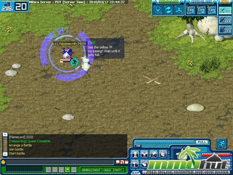 Digimon Battle Yokomon Screenshot