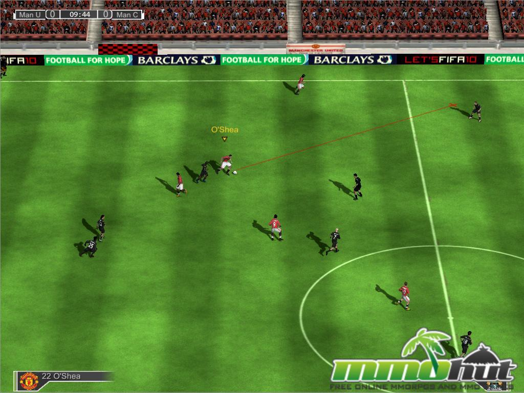 play free online games of football 3d