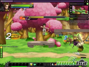 Fists of Fu Boss Bee Screenshot