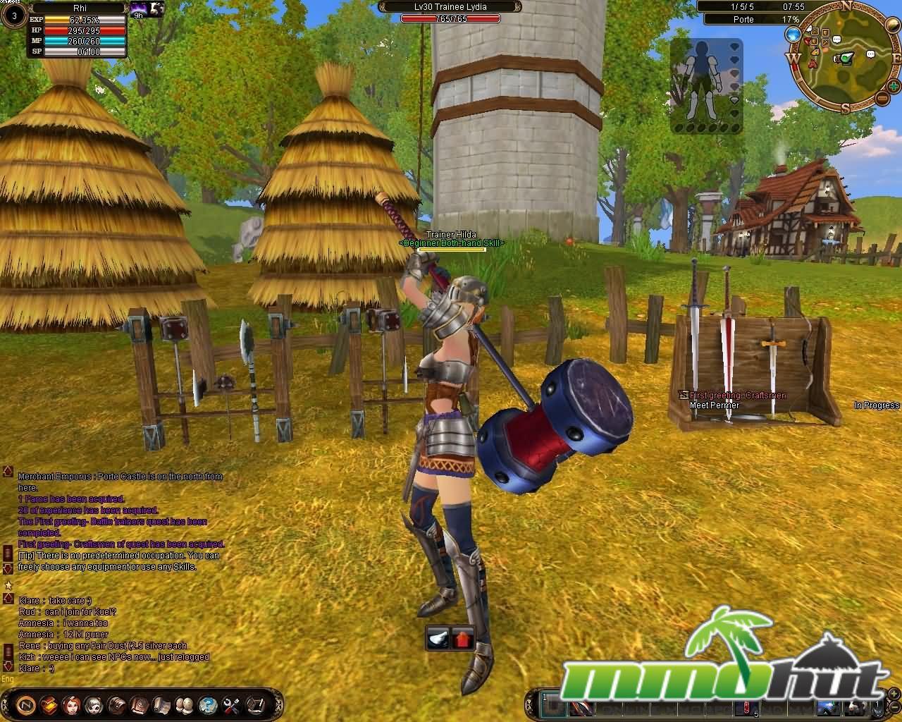 Neo Online Hammer Me Screenshot