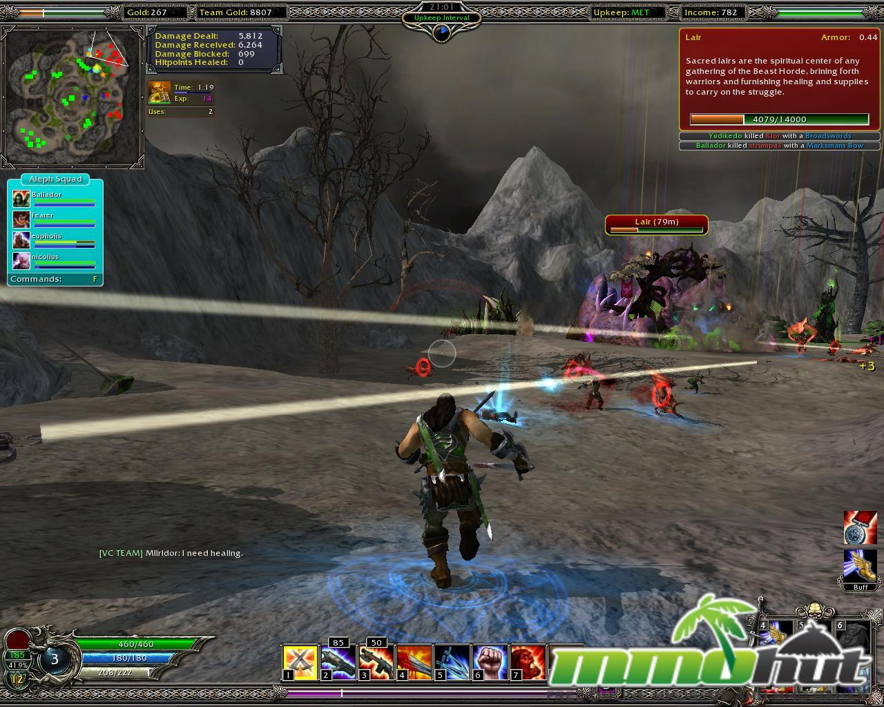 Linux MMORPGs