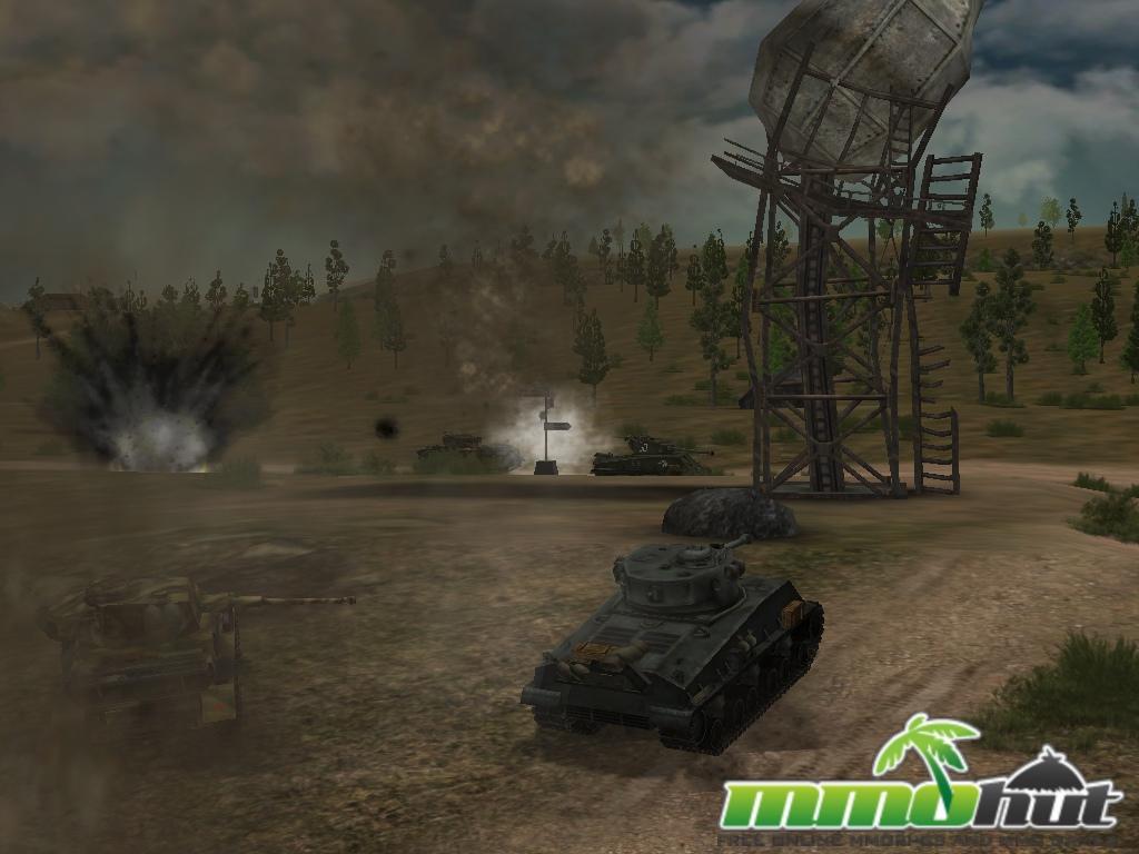 Free to Play WW2 MMOs Tank Ace
