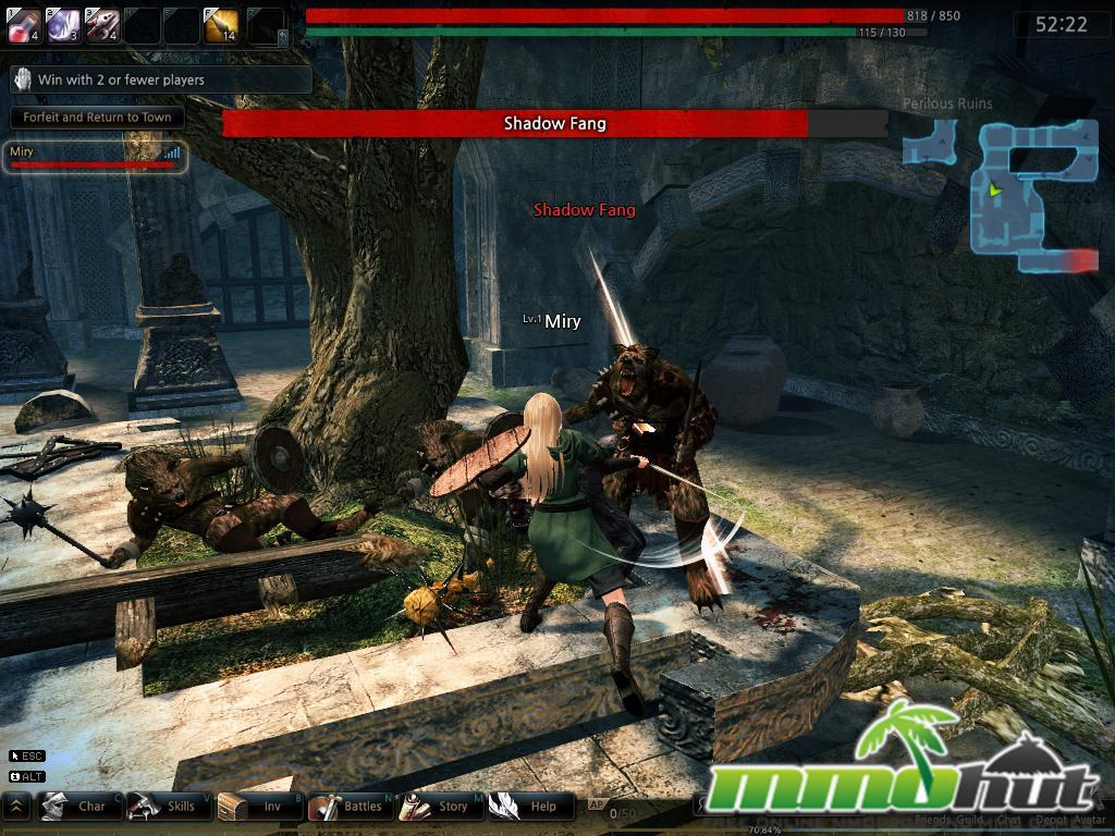 Top 10 Best 3D MMORPGs / MMOs Vindictus