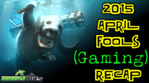 MMOHuts 2015 April Fool's Gaming Recap