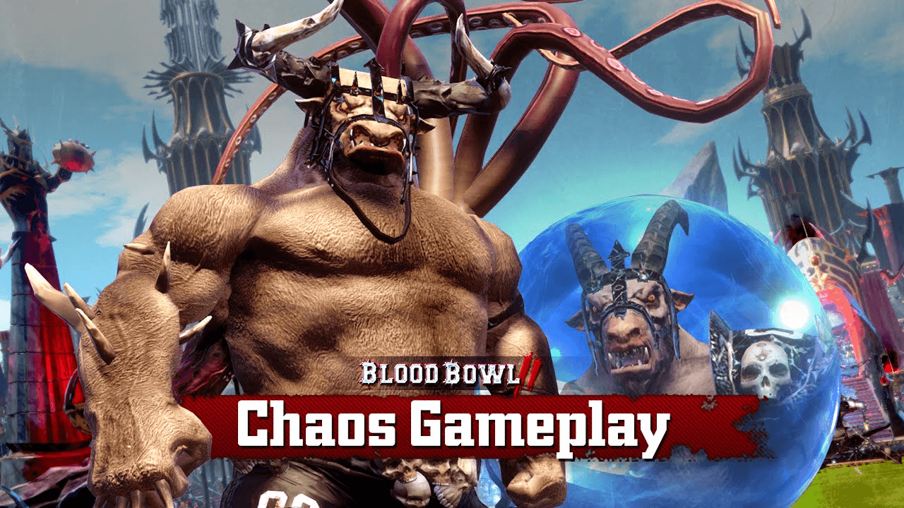 Blood Bowl 2: Chaos Basic Fouls Gameplay Video Thumbnail