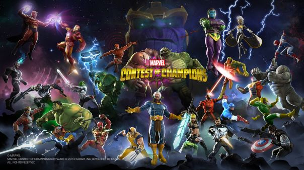 Marvel Contest of Champions Game Banner