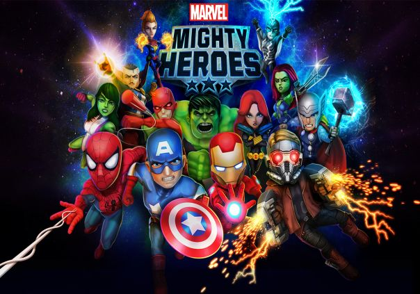 Marvel Heroes Game Profile Banner