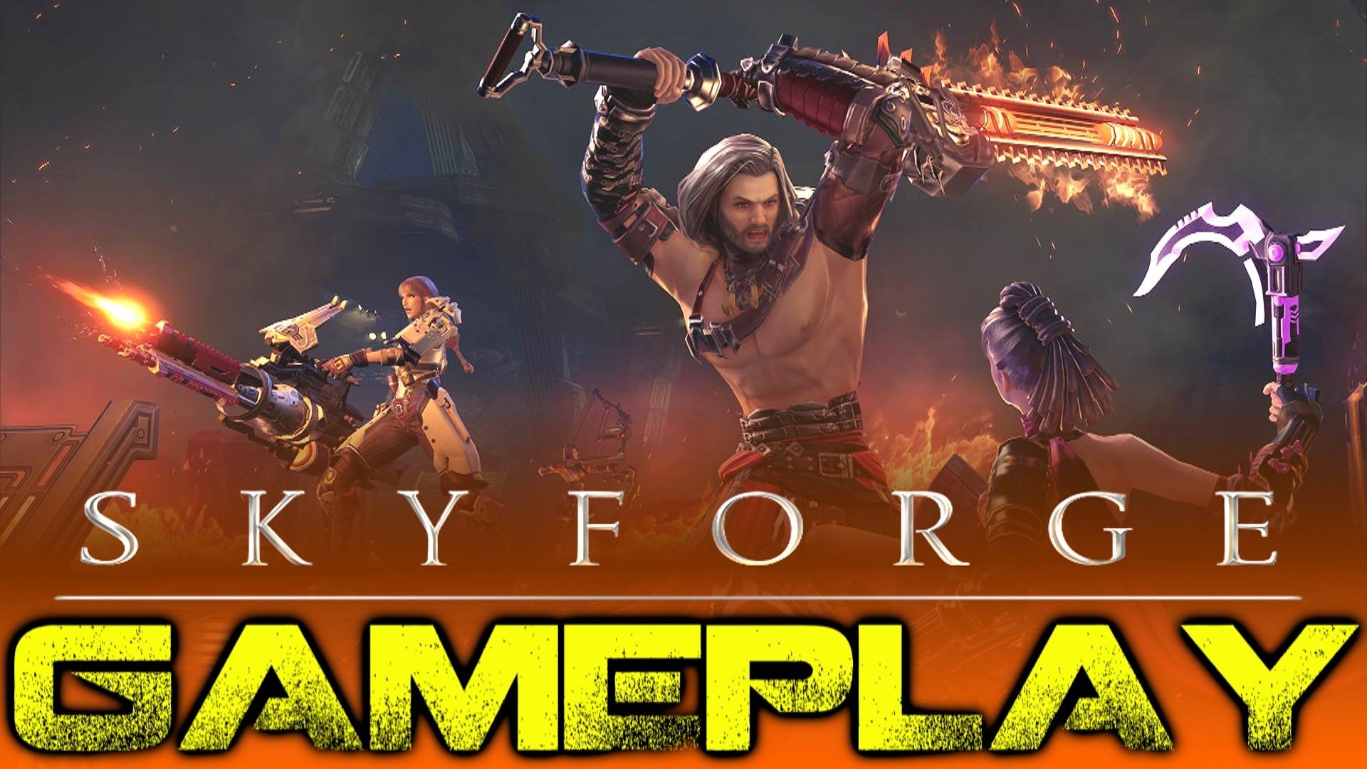 JamesBl0nde's Skyforge Gameplay Video Thumbnail