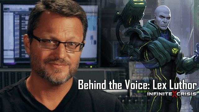 Infinite Crisis Behind the Voice: Steve Blum as Lex Luthor Video Thumbnail
