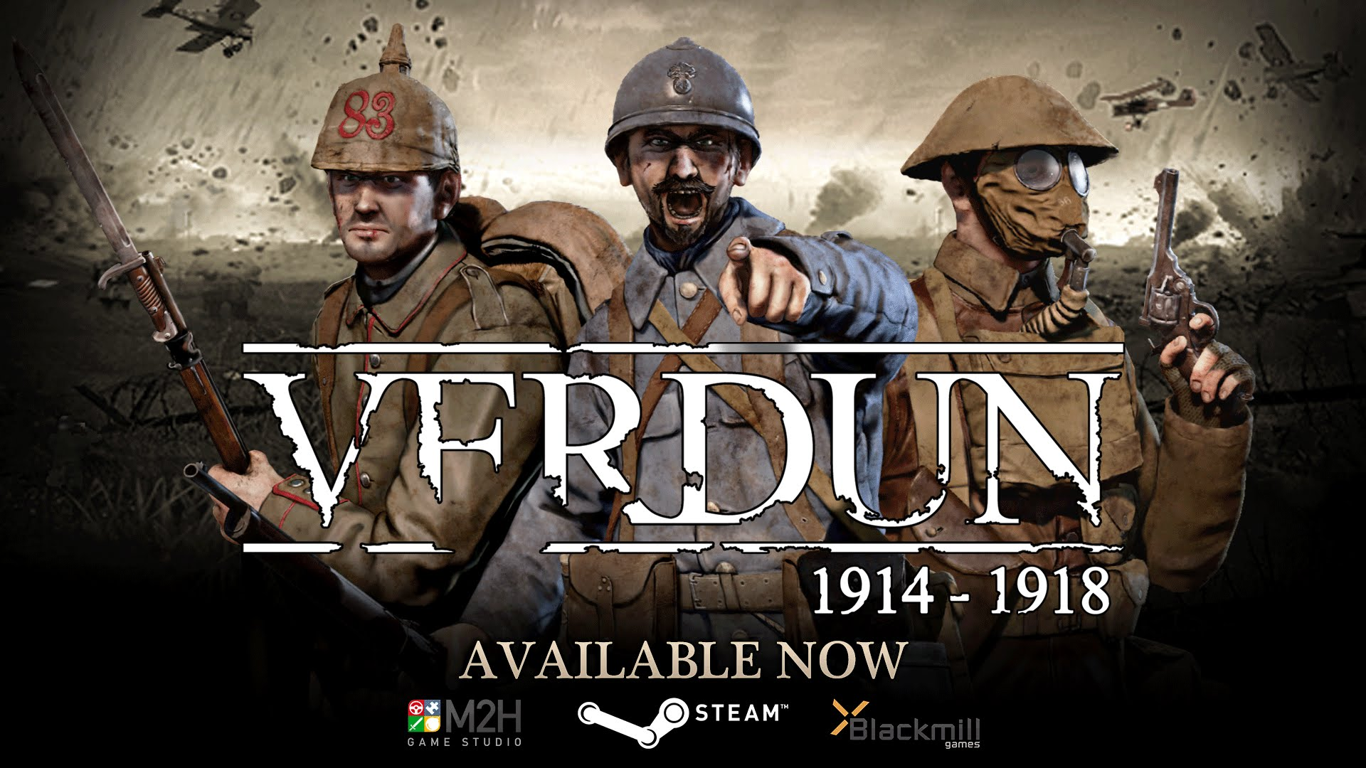 Verdun Release Trailer Video Thumbnail