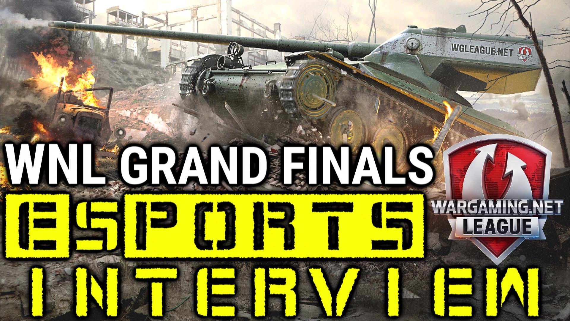 Wargaming.net League (WoT) - Grand Finals eSports Interview