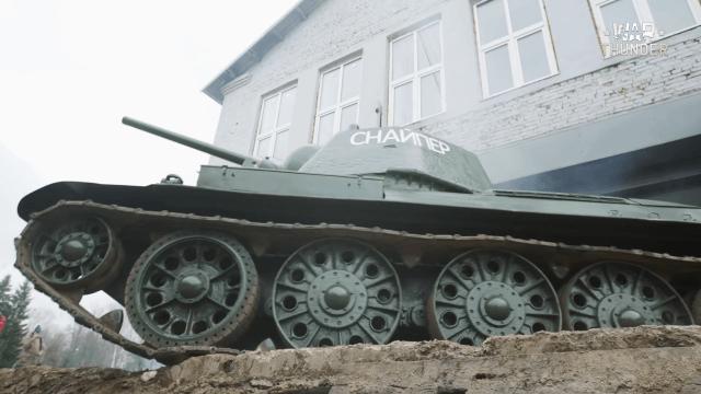 War Thunder Unforgotten: T-34 Sniper Video Thumbnail