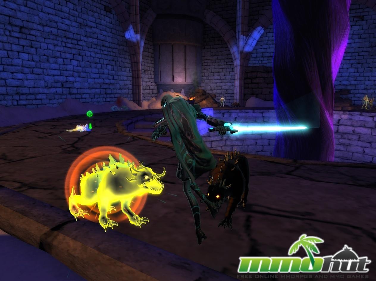 Chapions Online Review - Evil Rats Screenshot