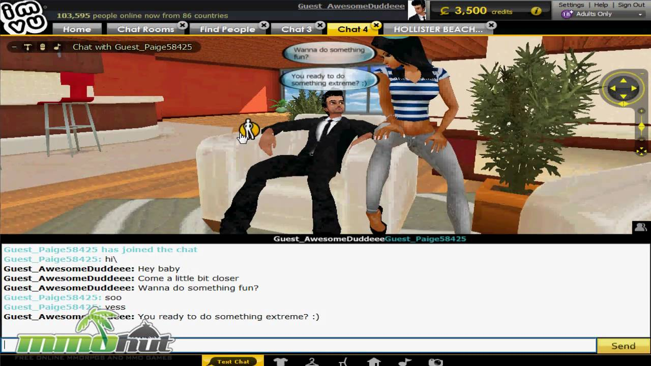 IMVU Gameplay - First Look HD Video Thumbnail