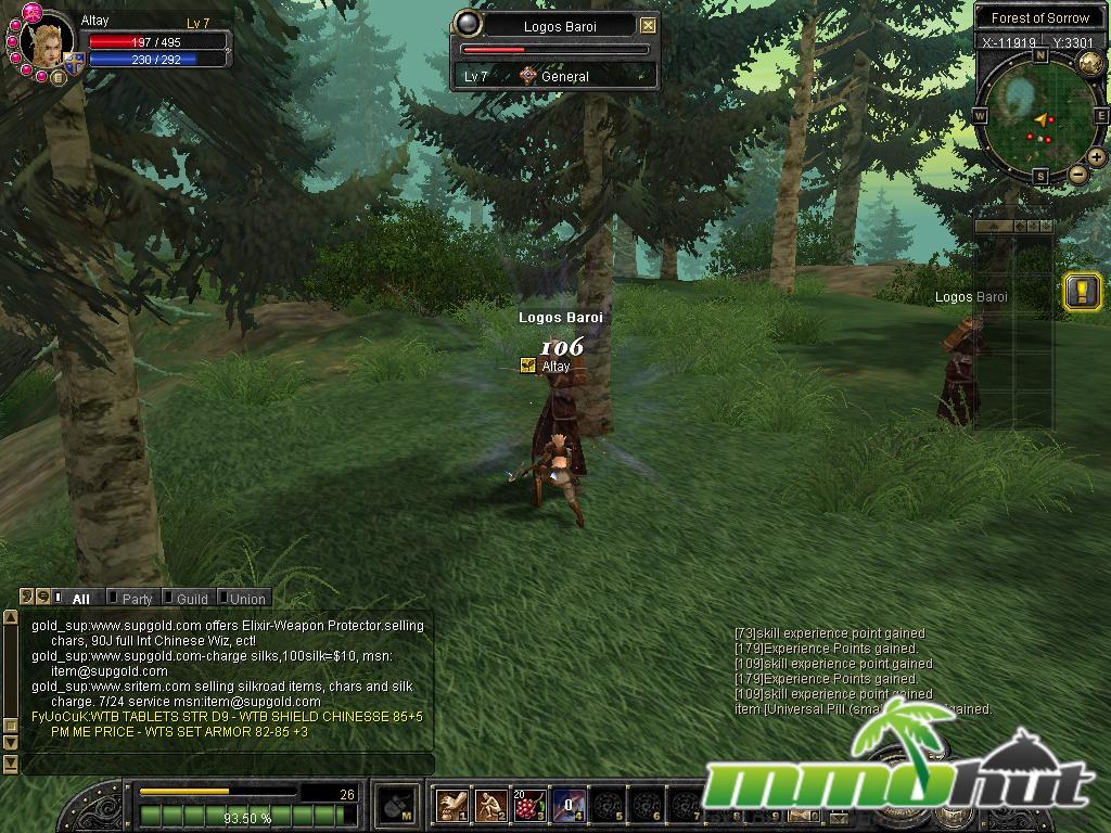 Silkroad Online Review Screenshot
