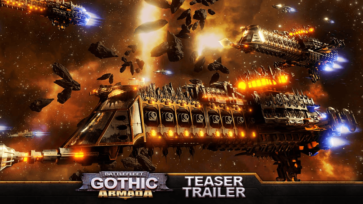 Battlefleet Gothic: Armada Teaser Trailer Video Thumbnail