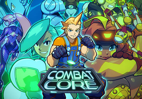 Combat Core Game Banner