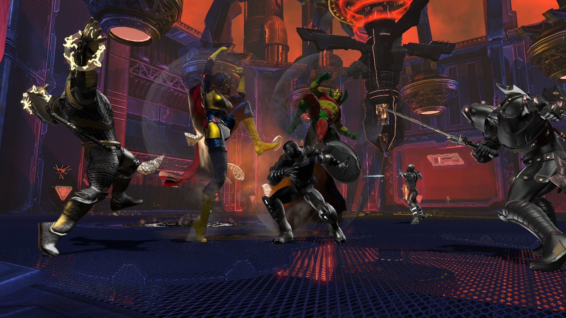 DCUO Halls of Power II DLC Press Overview