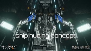 Descent: Underground Ship Hueing Concept Video thumbnail