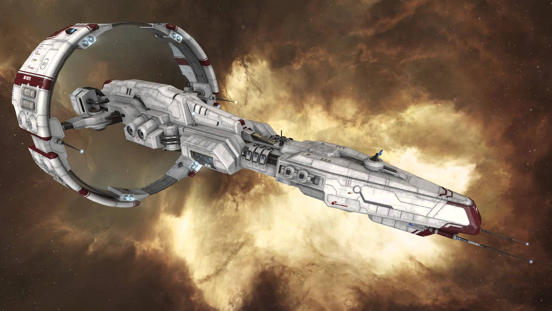 EVE Online Physically Based Rendering (V5++) Preview Video Thumbnail