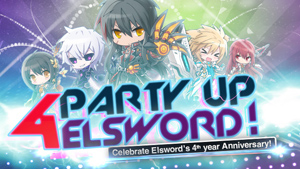 Elsword 4th Anniversary Party Twitch Thumbnail
