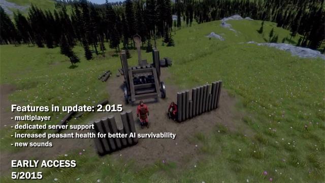 Multiplayer Medieval Engineers