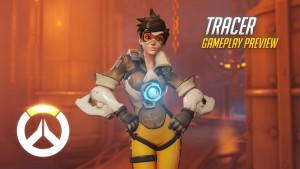 Overwatch Tracer Gameplay Preview Video Thumbnail