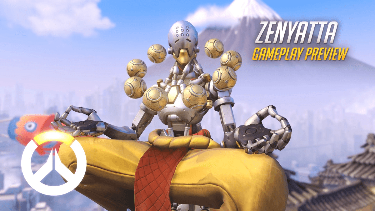 Overwatch: Zenyatta Gameplay Preview Video Thumbnail