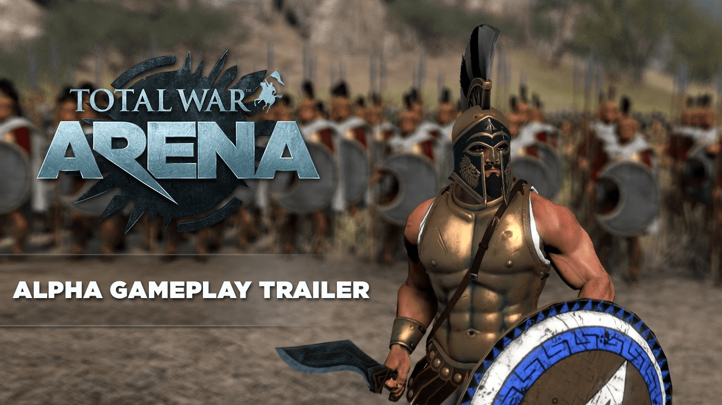 Total War: ARENA - Alpha Gameplay Trailer Thumbnail