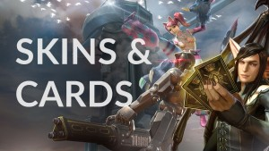 vainglory skins and cards
