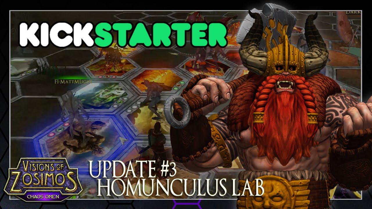 Visions of Zosimos Kickstarter Update: Homunculus Lab Video Thumbnail