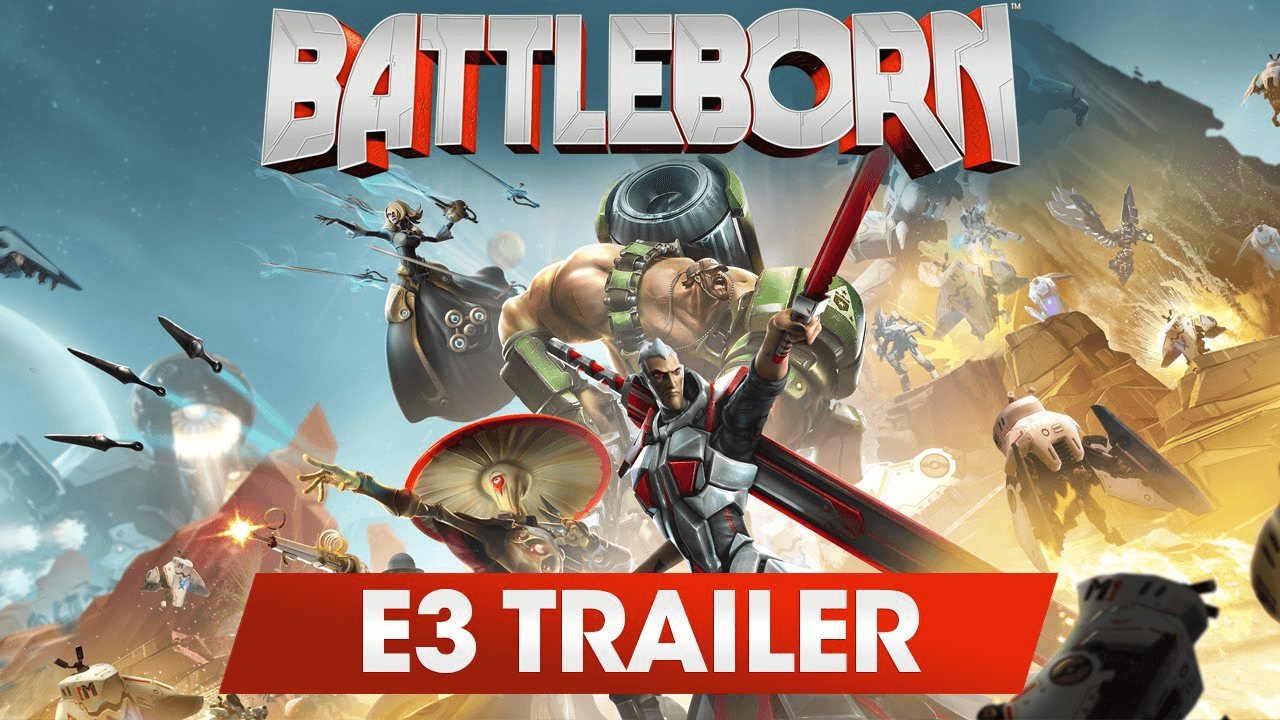 Battleborn: For Every Kind of Badass (E3 2015 Trailer) Video Thumbnail