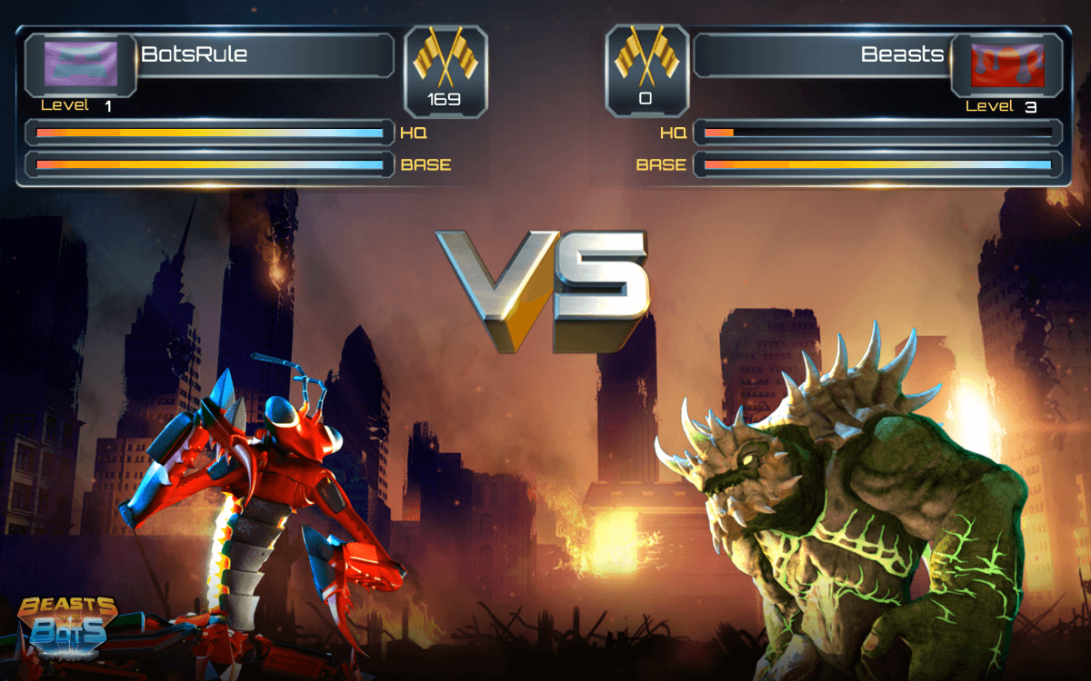 John Schappert's Shiver Entertainment reveals New RTS Beasts vs. Bots news header