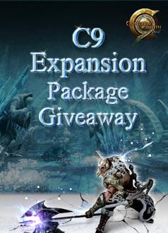C9 Webzen 5th Expansion Giveaway