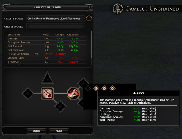 Camelot Unchained Community UI Update
