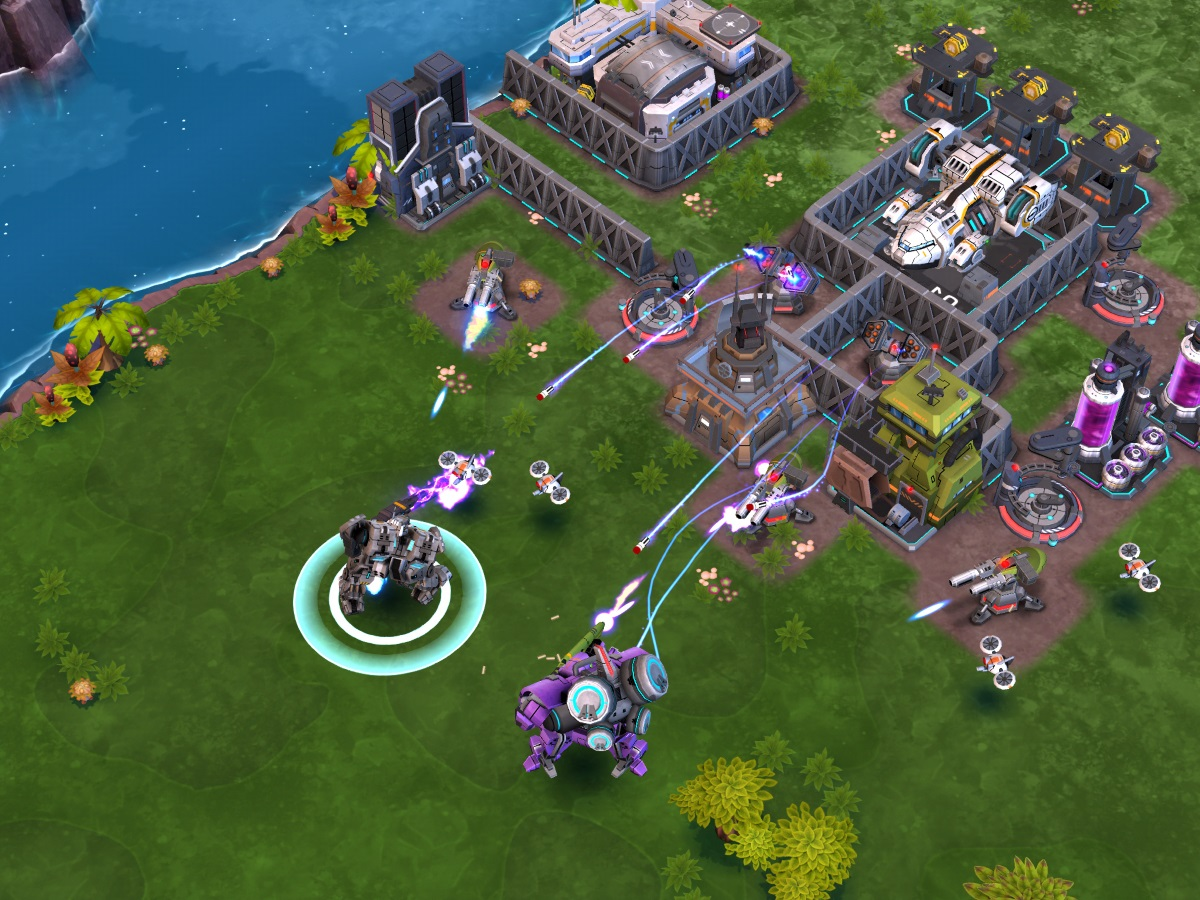 Mobile Strategy Game Dawn of Steel Blasts its Way to iOS this Summer news header