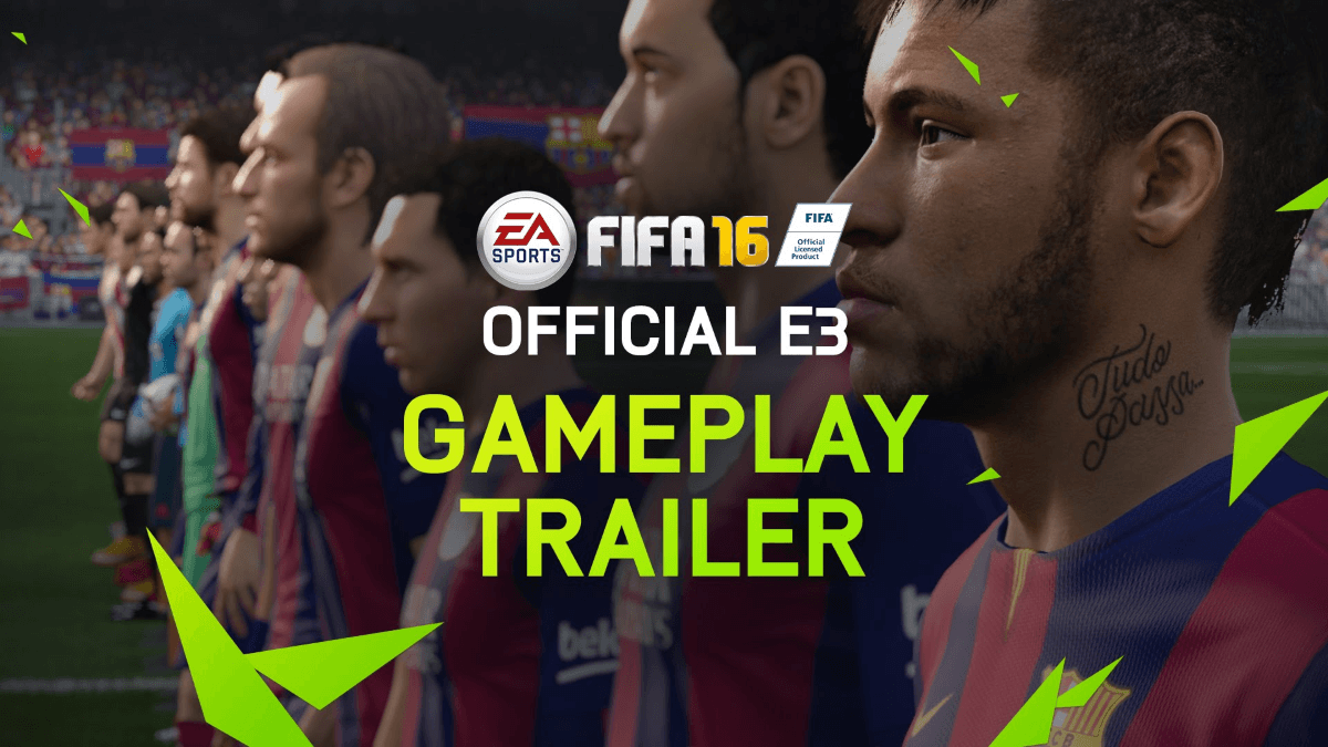 FIFA 16: E3 Gameplay Trailer Thumbnail