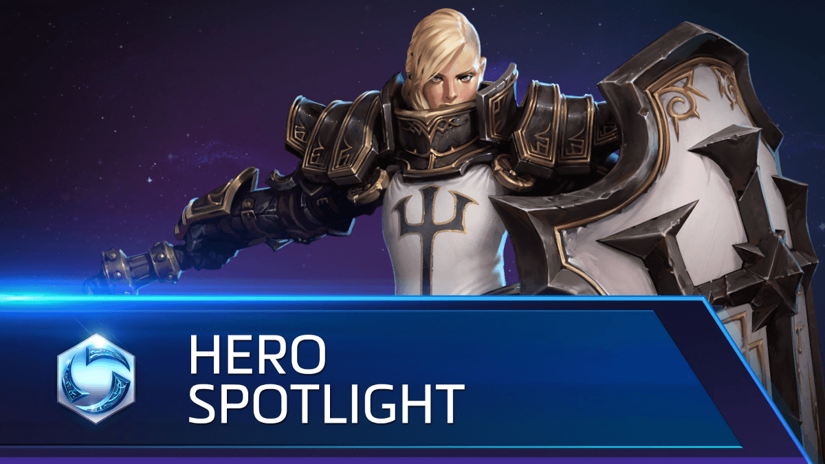 Heroes of the Storm: Johanna Spotlight Video Thumbnail
