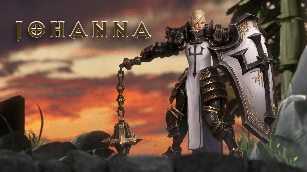 Heroes of the Storm: Johanna Trailer Thumbnail