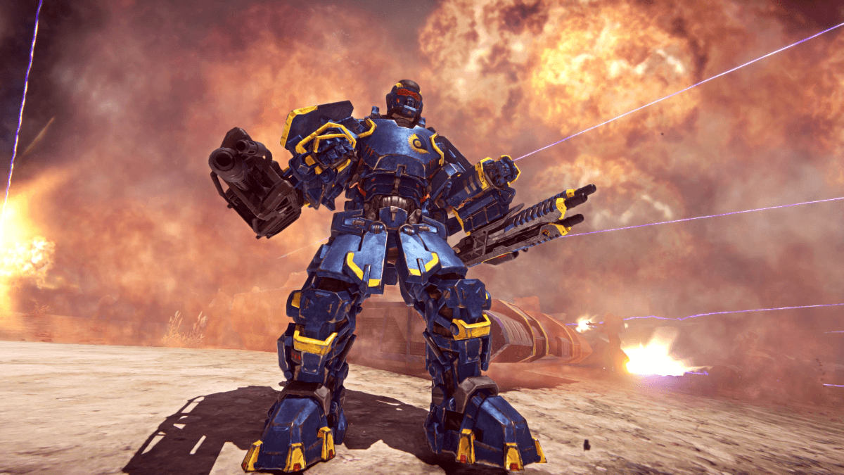 PlanetSide 2 Announces PS4 Launch Date News Header