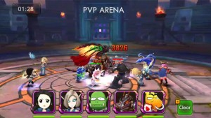Rush Of Heroes Gameplay