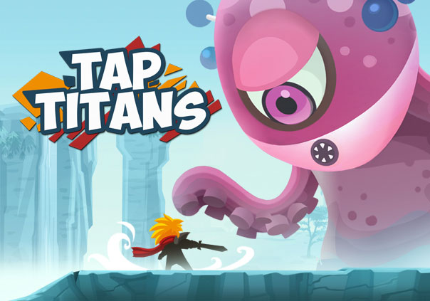 Tap Titans Game Profile Banner
