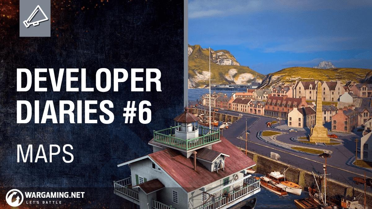World of Warships Developer Diaries #6: Maps Video Thumbnail