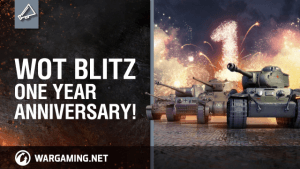 World of Tanks Blitz One Year Anniversary Trailer thumbnail