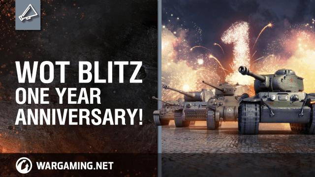 World of Tanks Blitz One Year Anniversary Trailer thumbnail