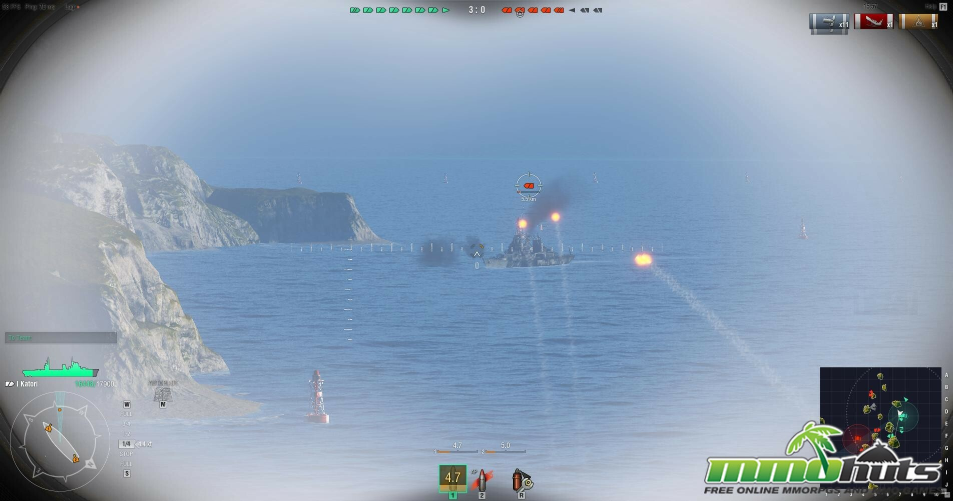World of Warships Closed Beta Impressions