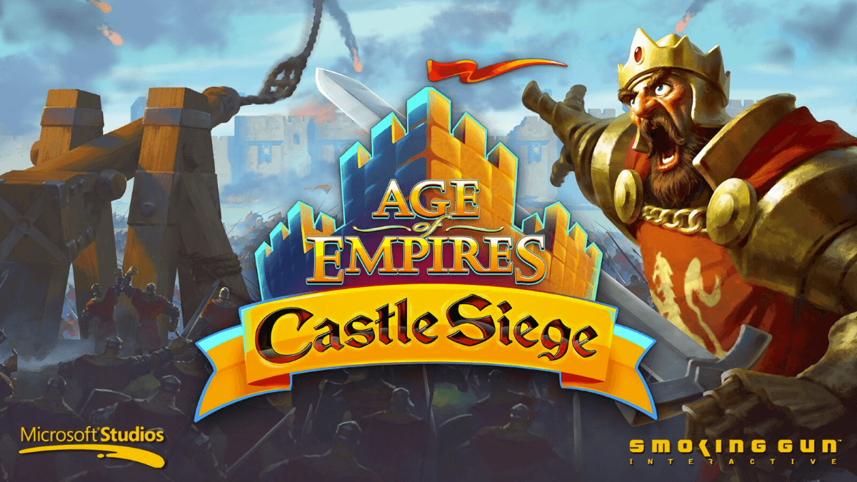 Age of Empires: Castle Siege Available Today on iOS news header