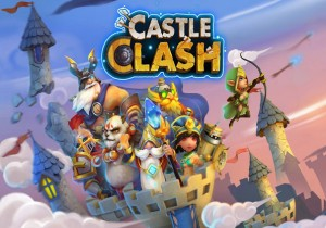 CastleClash Game Banner