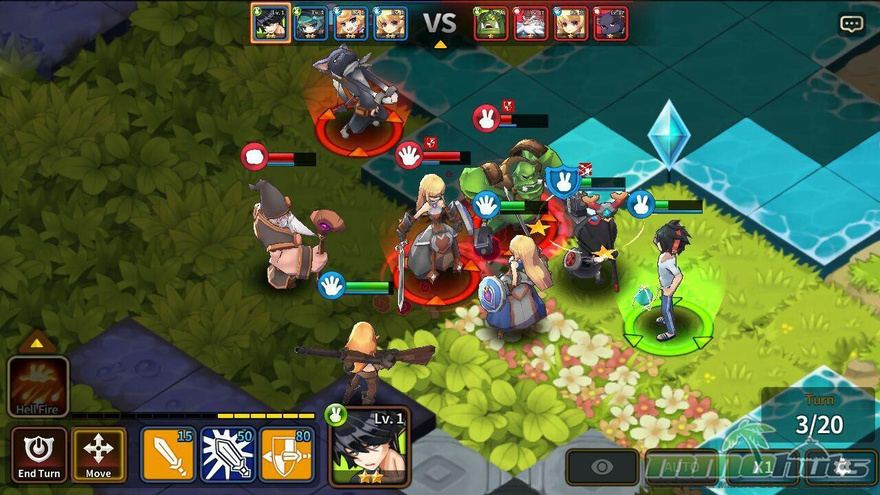 Fantasy War Tactics Mobile Interview w/ Director Lee